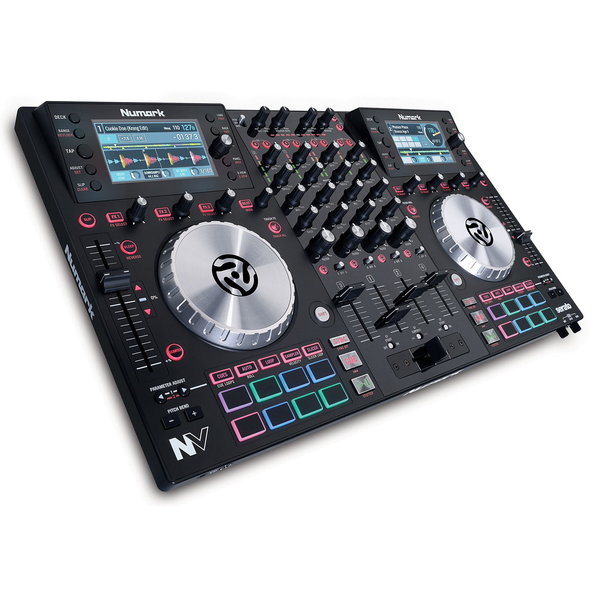 numark nv dj controller. Black Bedroom Furniture Sets. Home Design Ideas