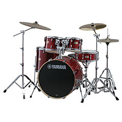 Yamaha Stage Custom Birch SBP-2F5CR6W « Drumstel