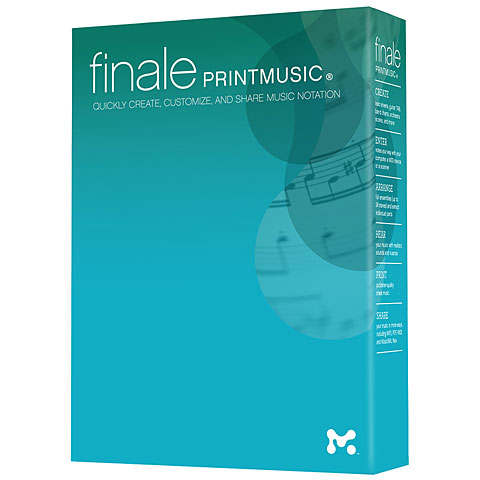 Editeur de partition MakeMusic Finale PrintMusic 2014 D