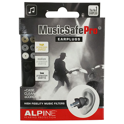 Protección para oidos Alpine Music Safe Pro Black Edition