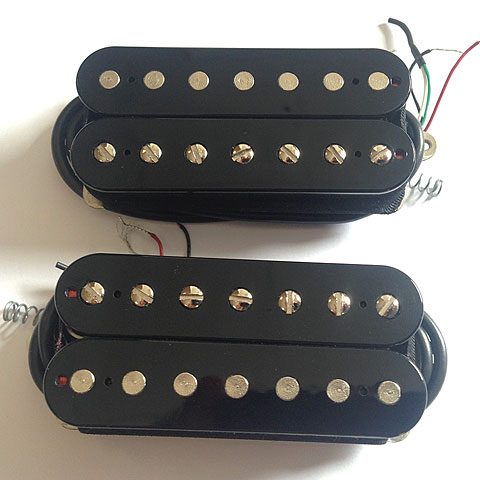 Pastillas guitarra eléctr. Bare Knuckle Holydiver Open Set 7-String