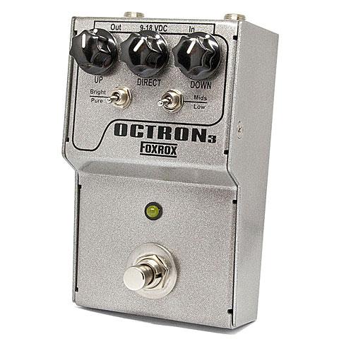 Pedal guitarra eléctrica Foxrox Octron3