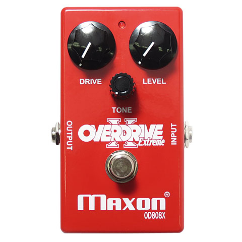 Pedal guitarra eléctrica Maxon OD808X Extreme Overdrive