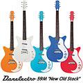 Guitarra eléctrica Danelectro 59 M-NOS Modified WHT