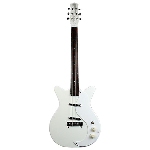 Danelectro 59 M-NOS Modified WHT « Electric Guitar