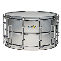 "Ludwig Supralite Beaded Steel 14"" x 8"" Snare Drum « Caja"
