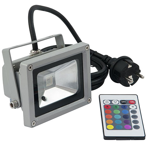 Eurolite LED IP FL-10 COB RGB 120° FB