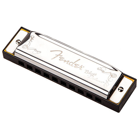 Harmonica Richter Fender Blues Deluxe A