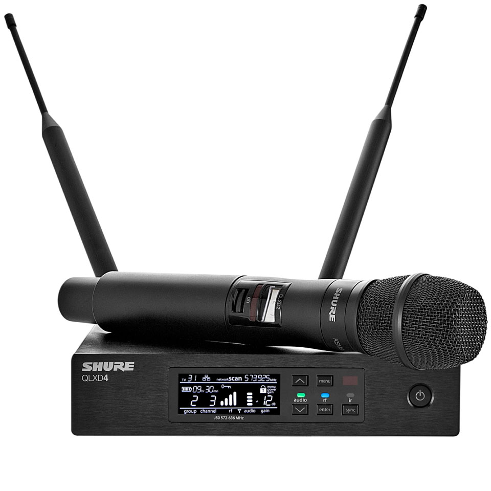 Shure Qlxd24e Ksm9 171 Wireless Systems