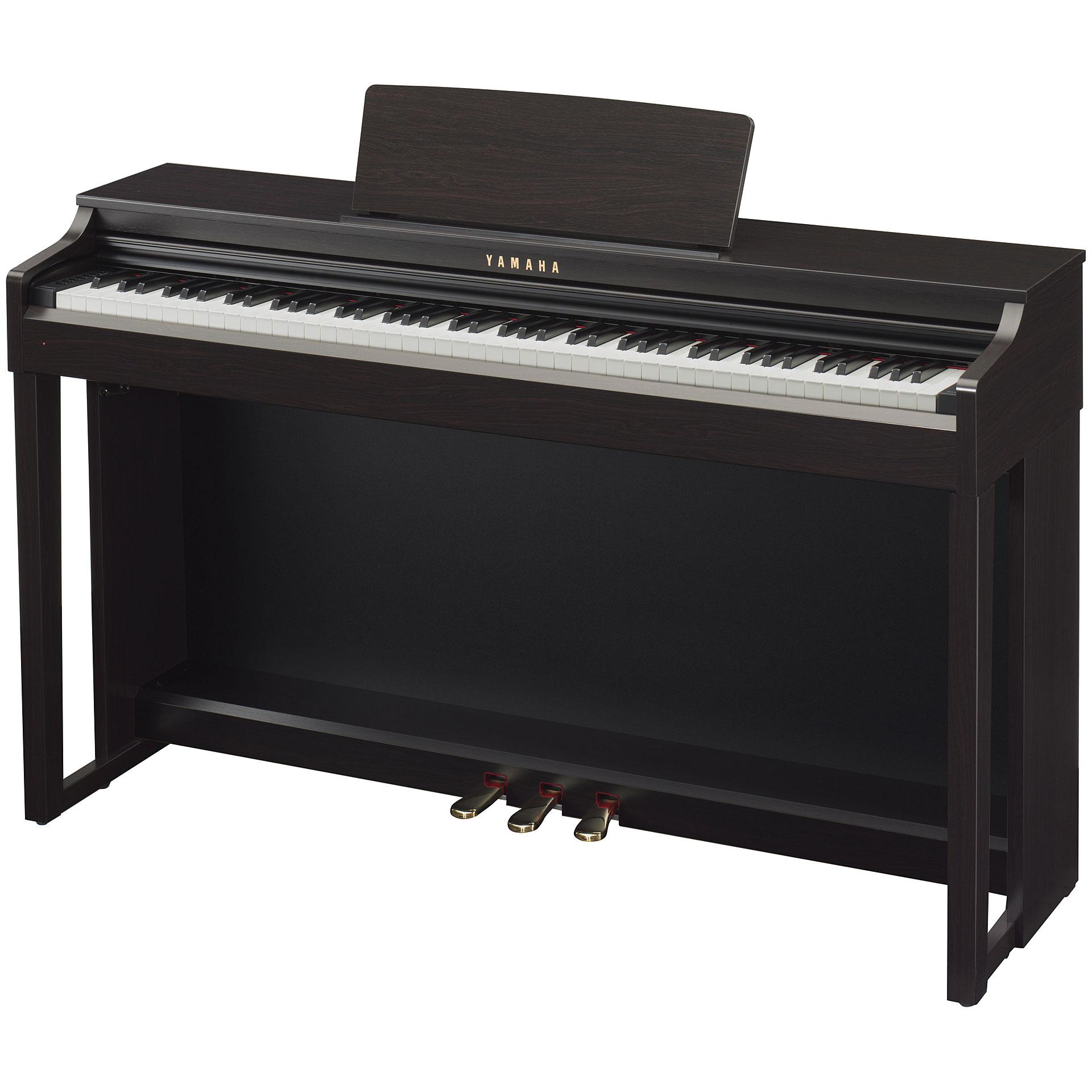 yamaha clavinova clp 525r bundle digital piano. Black Bedroom Furniture Sets. Home Design Ideas