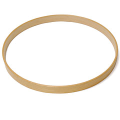 "Magnum 24"" Natural Maple Bass Drum Wood Hoop « Cercles"