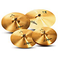 "Sets de platos Zildjian A391 5 Cymbal Set-Up 14""HH/16""C/18""C/21R"