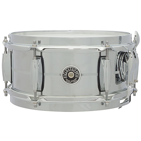 "Gretsch Drums USA Brooklyn 10"" x 5"", Chrome over Steel Snare"