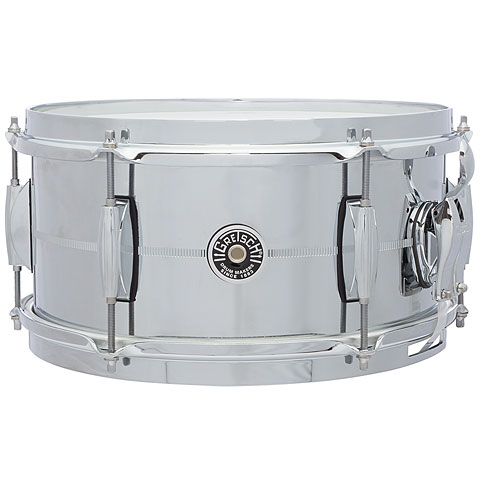 Gretsch USA Brooklyn 12  x 6  Chrome over Steel Snare