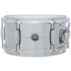 "Gretsch Drums USA Brooklyn 12"" x 6"" Chrome over Steel Snare « Caisse claire"