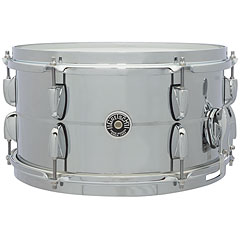 "Gretsch Drums USA Brooklyn 13"" x 7"" Chrome over Steel Snare « Caisse claire"