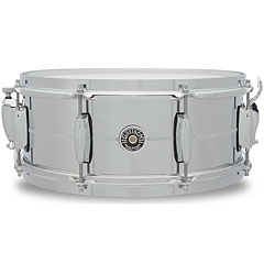 "Gretsch Drums USA Brooklyn 14"" x 5,5"" Chrome over Steel Snare « Caisse claire"