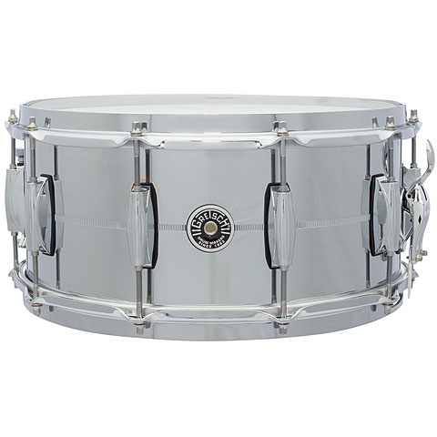 "Gretsch Drums USA Brooklyn 14"" x 6,5"" Chrome over Steel Snare"