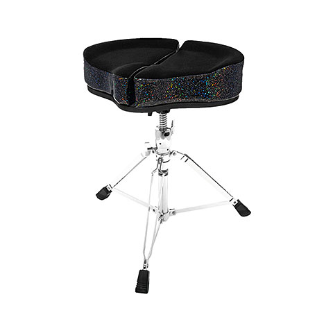 Drum Throne AHead Spinal Glide SPG-BS-3 Black Sparkle