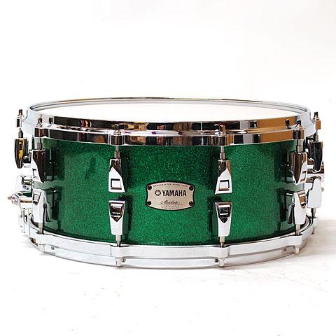Yamaha Absolute Hybrid Maple 14  x 6  Jade Green Sparkle