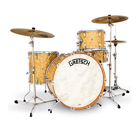 Gretsch usa broadkaster vintage bk r443v ap drum kit for Classic house drums