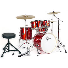 "Gretsch Drums Energy 20"" Red Complete Drumset « Batterie acoustique"