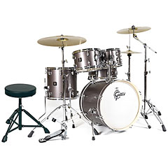 "Gretsch Drums Energy 20"" Grey Steel Complete Drumset « Batterie acoustique"