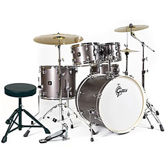 "Gretsch Drums Energy 22"" Grey Steel Complete Drumset « Batterie acoustique"