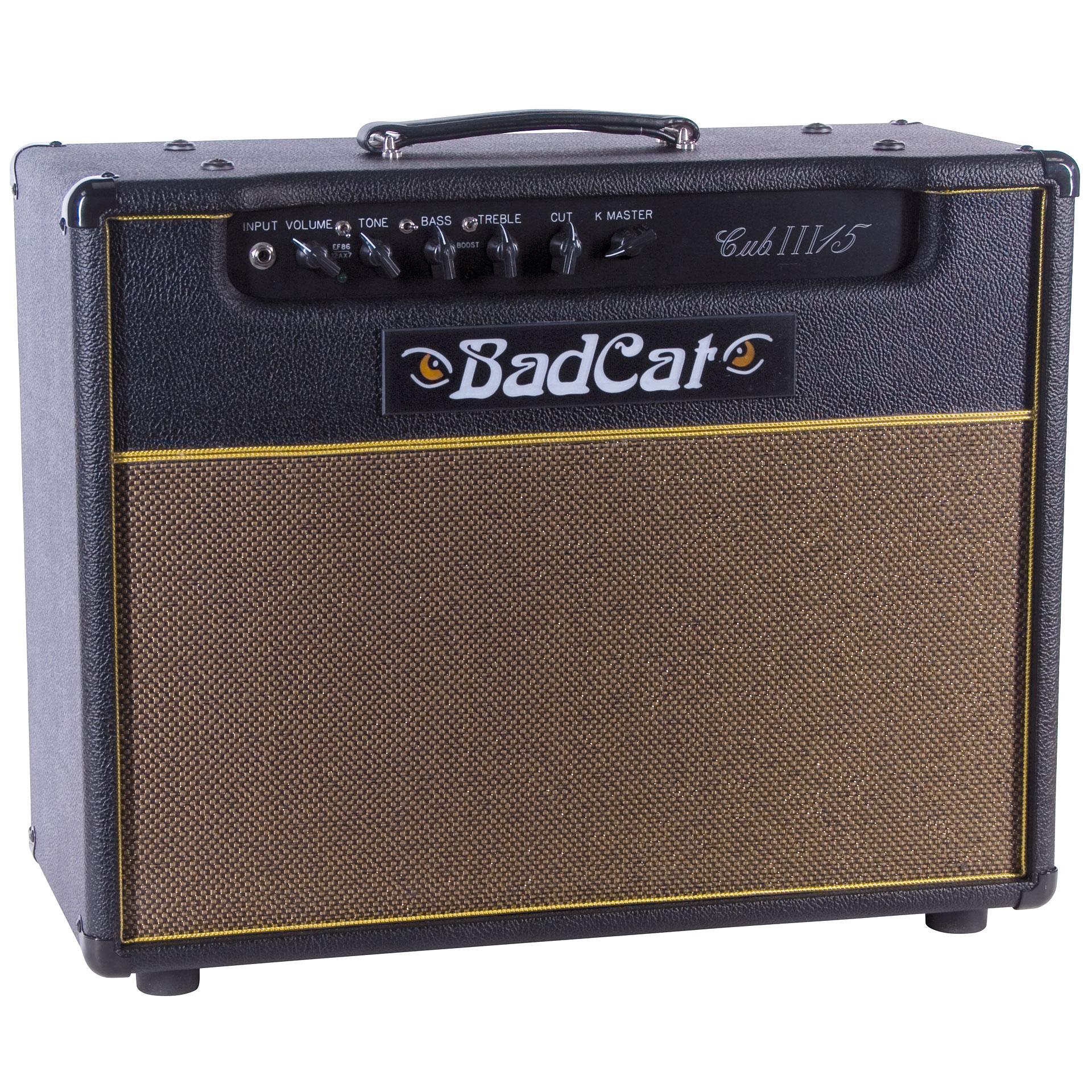 bad cat cub iii 15 guitar amp. Black Bedroom Furniture Sets. Home Design Ideas