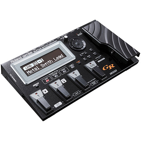 Synthesizer E-Gitarre Roland GR-55GK BK