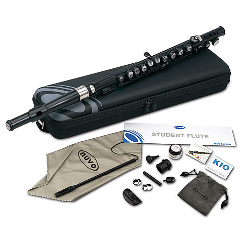 Nuvo Student Flute black