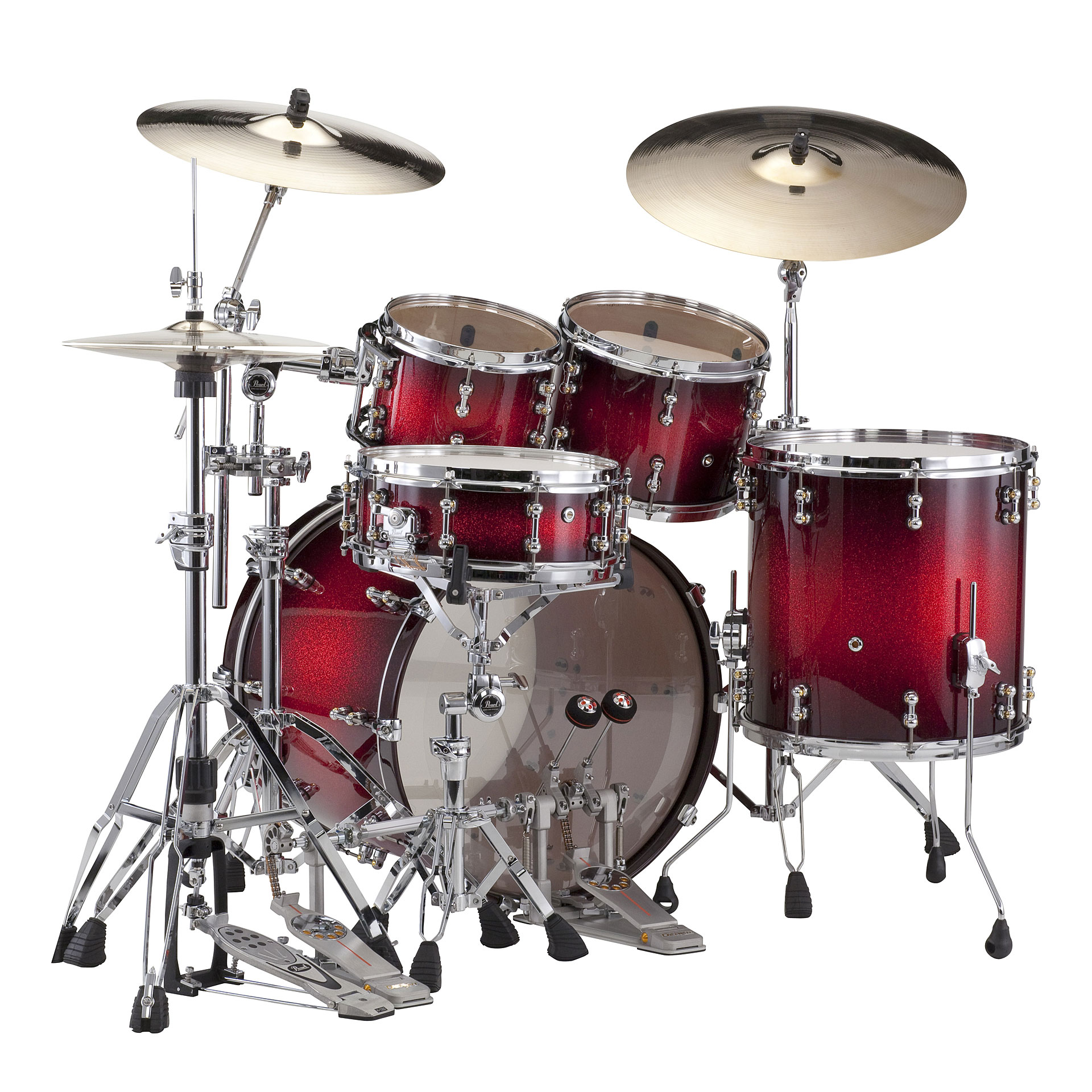 pearl reference pure rfp 924xep 377 drum kit. Black Bedroom Furniture Sets. Home Design Ideas