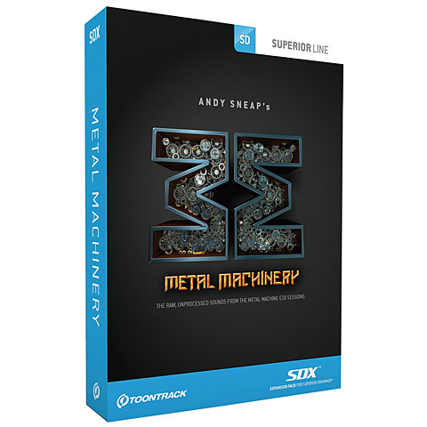 Softsynth Toontrack Metal Machinery SDX