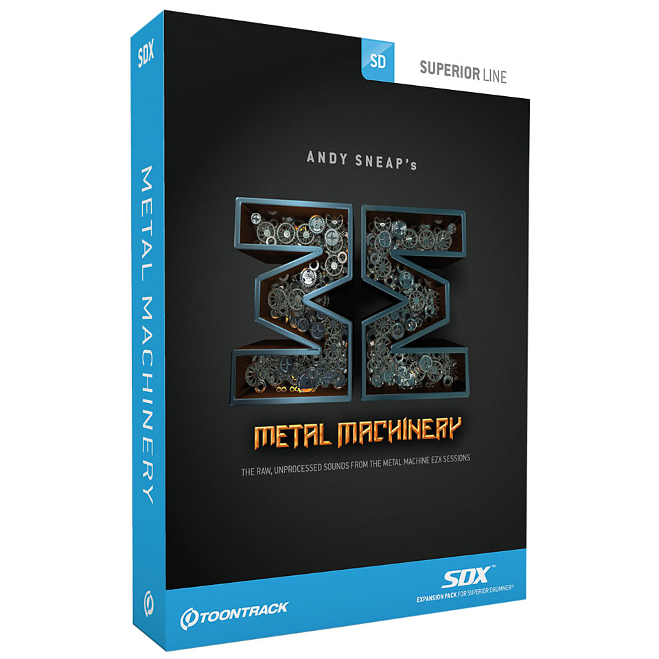 Toontrack Metal Machinery Sdx Softsynth
