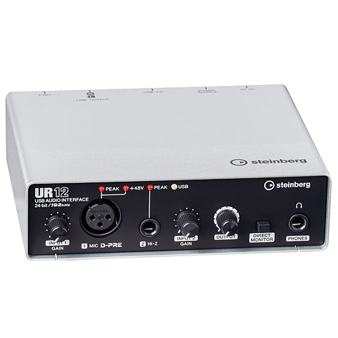 Carte son, Interface audio Steinberg UR12