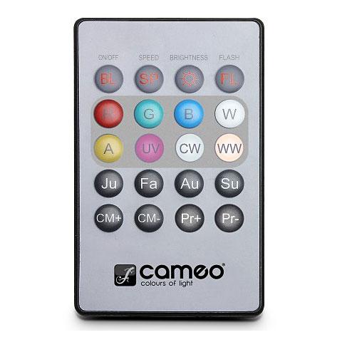 Cameo Cameo Flat PAR Can Remote