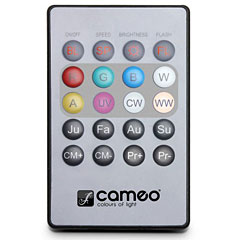 Cameo Flat PAR Can Remote Control « Scan Controler