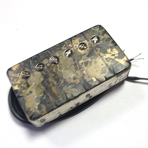 Electric Guitar Pickup Bare Knuckle Nailbomb Covered Bridge