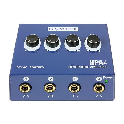 Amplificador auricular LD Systems HPA 4