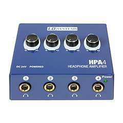 LD Systems HPA 4 « Headphone Amplifier