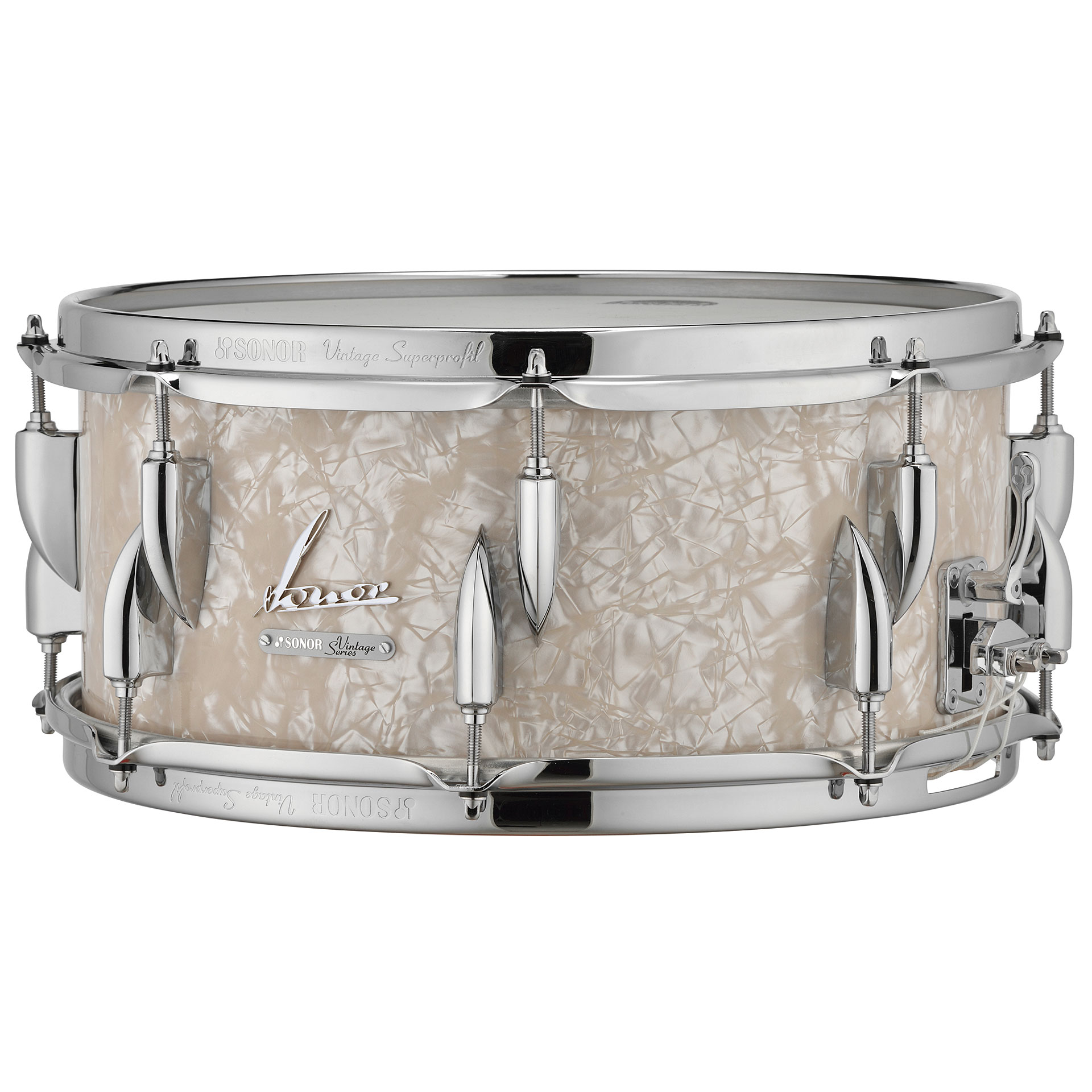 Sonor vintage series vt 15 14x5 75 sdw vintage pearl for Classic house drums