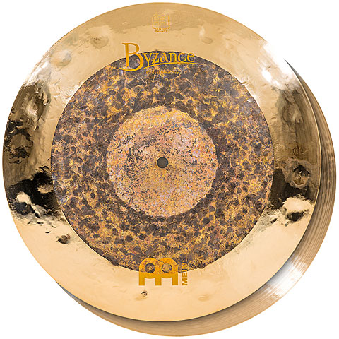 "Meinl Byzance Extra Dry 15"" Dual HiHat"