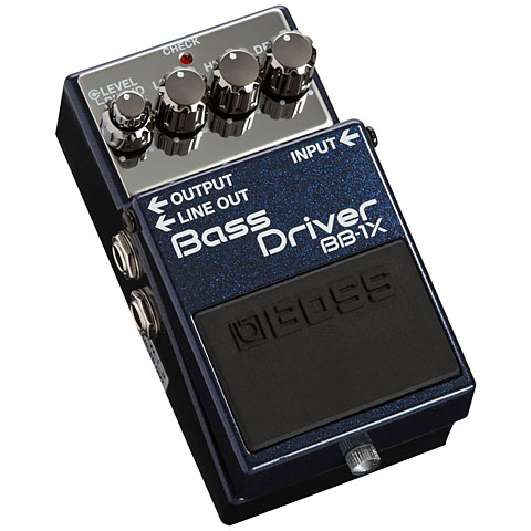 Bass Guitar Effect Boss BB-1X Bass Driver