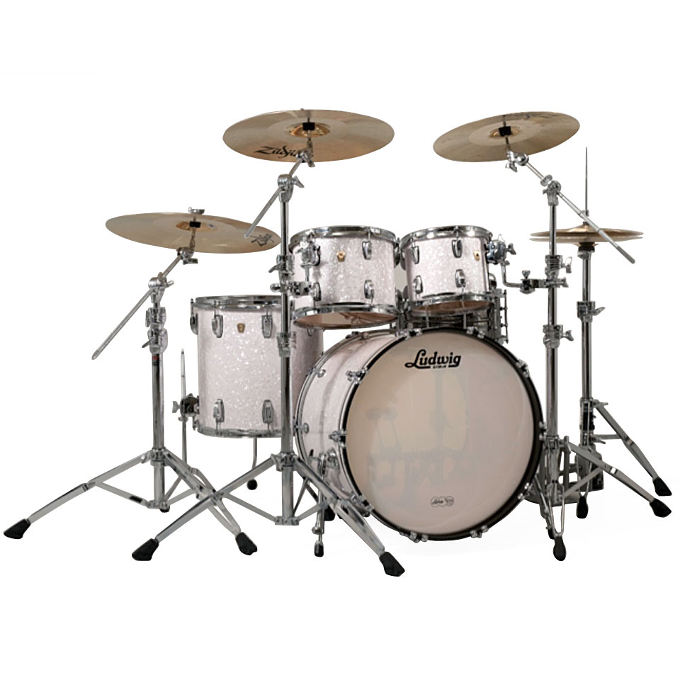 Ludwig classic maple mts mod22 0p drum kit for Classic house drums