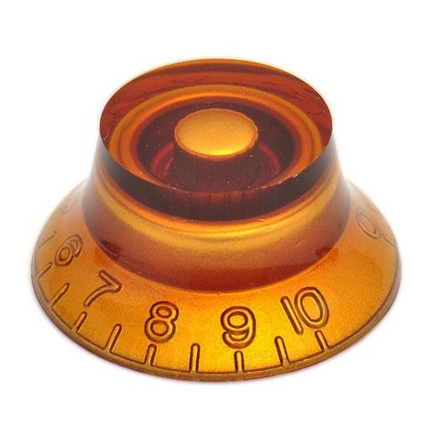 Botón potenciómetro Göldo KBHVG Knob, Plexi, hat-shape