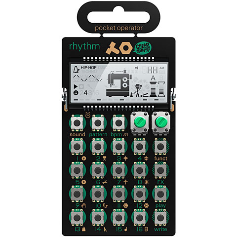 Sintetizador Teenage Engineering PO-12 rhythm