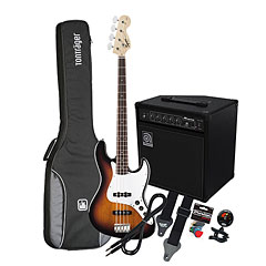 Squier Affinity J-Bass BSB / Ampeg BA-108 « Bass Guitar Set