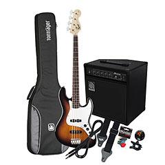 Squier Affinity J-Bass BSB / Ampeg BA-108 « Basgitaar Set