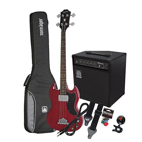 Bass Guitar Set Epiphone EB-0 CH / Ampeg BA-108
