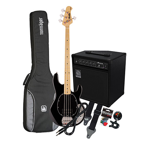 Sterling by Music Man SUB Ray 4 BK / Ampeg BA-108